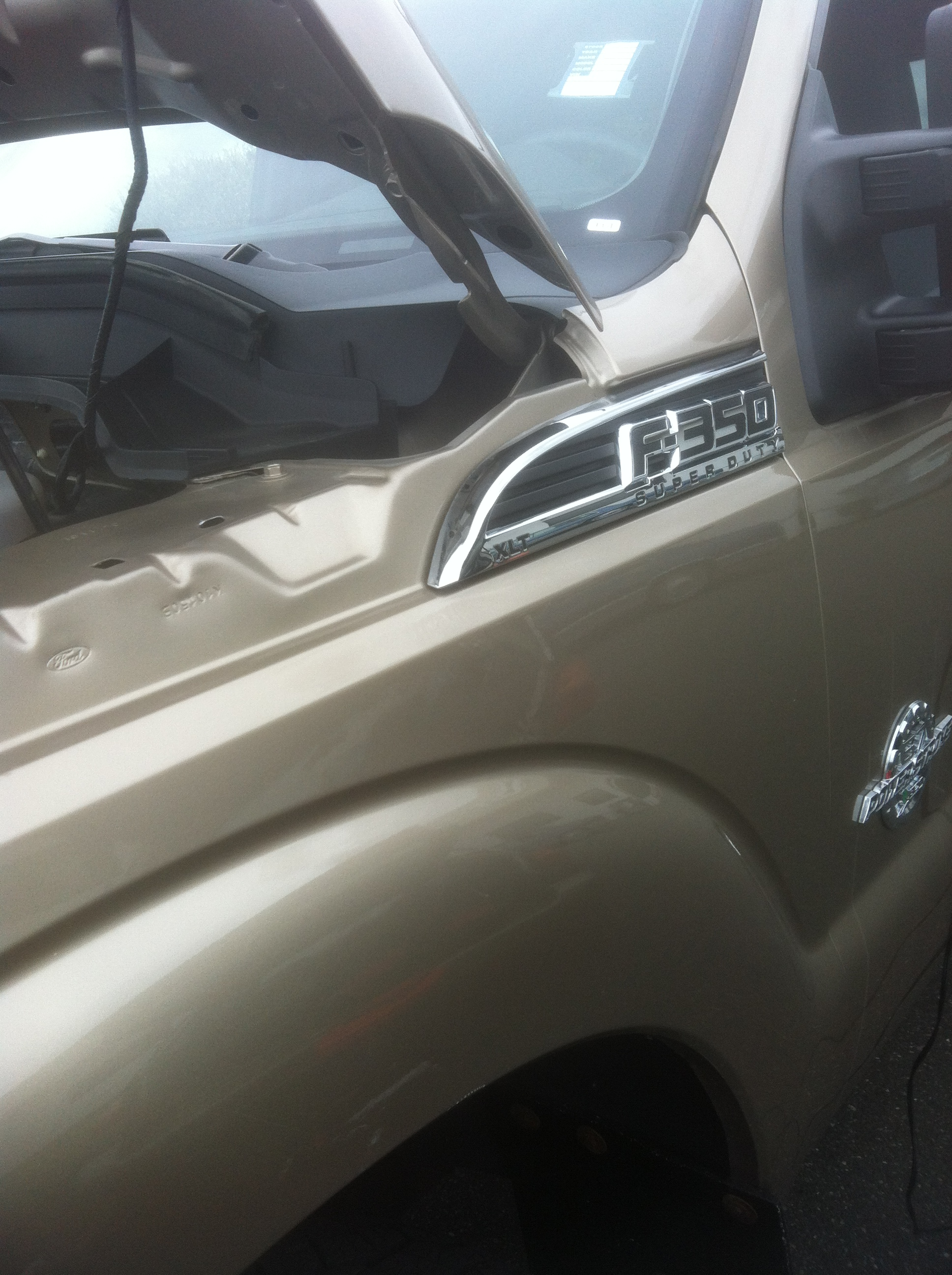 F350 Dent After