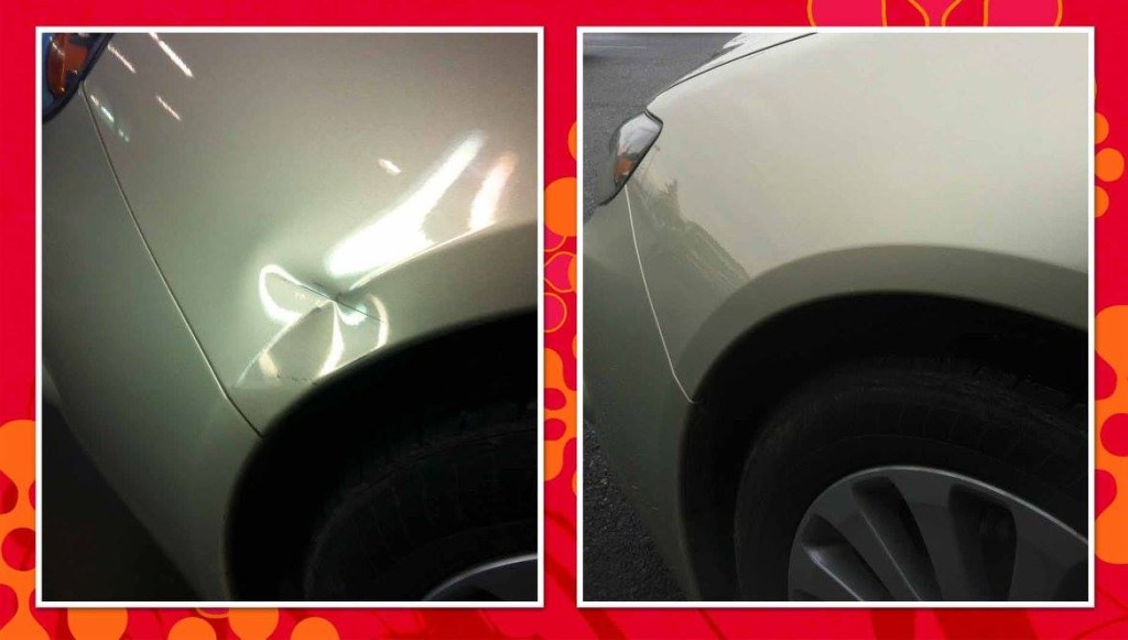 Dent411.com Paintless Dent Repair Portland Dent 411