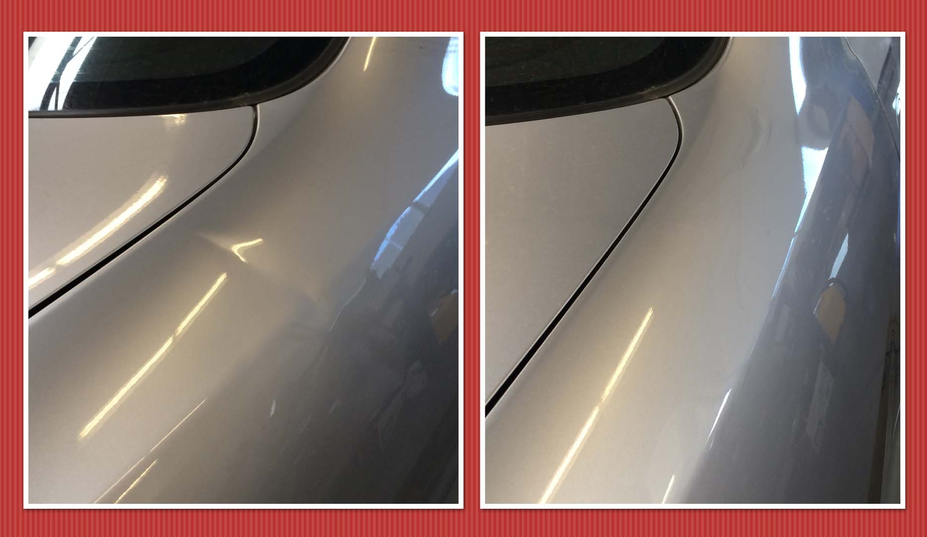 Honda Accord Dent Repair RRQ Ladder The Dalles Before After