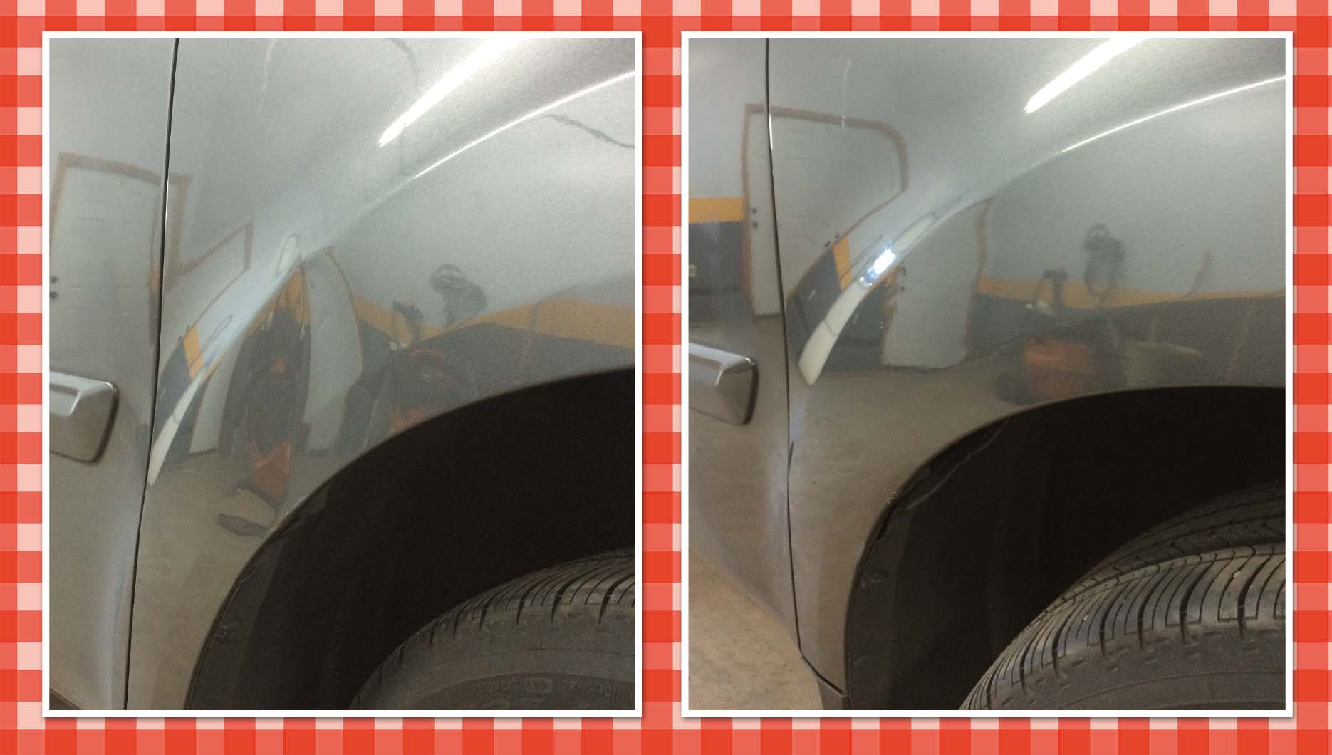 Pilot Fender Before After