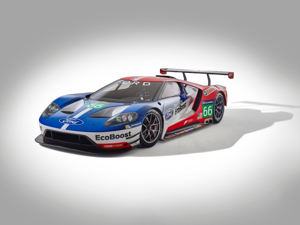 Ford GT LeMans 2016